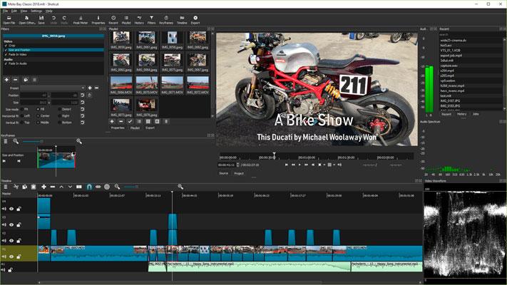 Los mejores programas para editar videos gratis