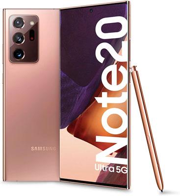 Samsung Galaxy Note 20 Ultra Los mejores móviles para trabajar 2021